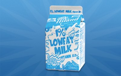 Milk,Reduced Fat 8 Oz