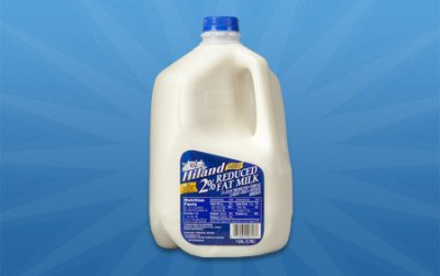Milk, Vitamin A & D, 2% Reduced Fat