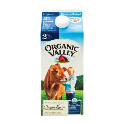 Reduced Fat Milk, Organic Vitamins A & D 2%
