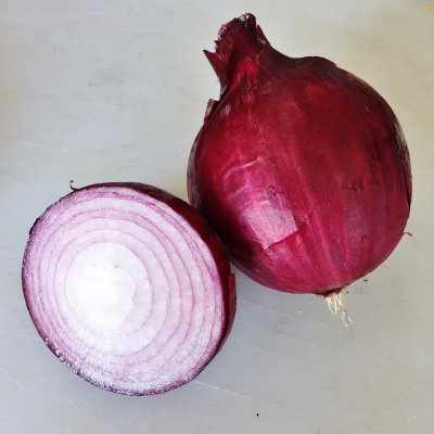 Organic, Onion, Red, Fresh, Bunch