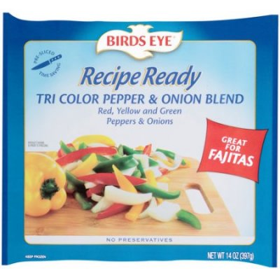 Tri-Color Pepper and Onion Blend
