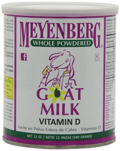 Goat Milk, Vitamin D