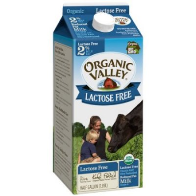 Milk,Lactose Free Organic Reduced Fat 2% Milkfat