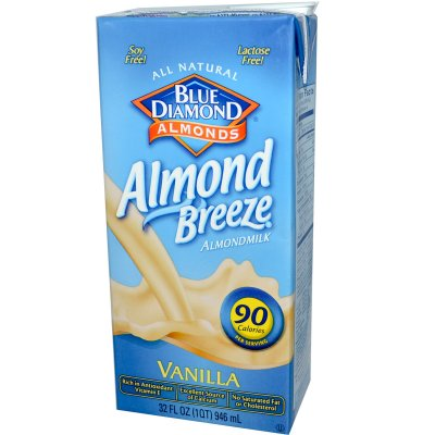 Almond Milk, Vanilla