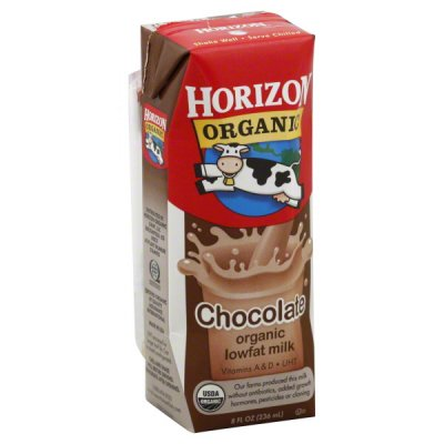 Organic Chocolate Lowfat Milk