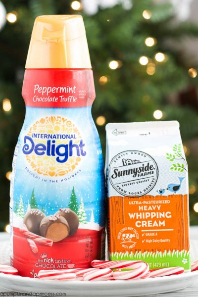 Peppermint Chocolate Truffle, Gourmet Coffee Creamer