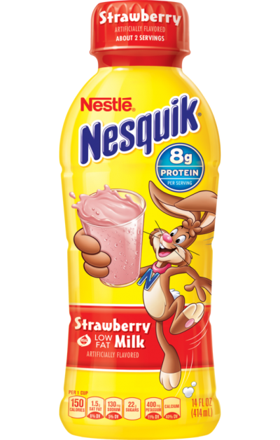 Strawberry Lowfat Milk