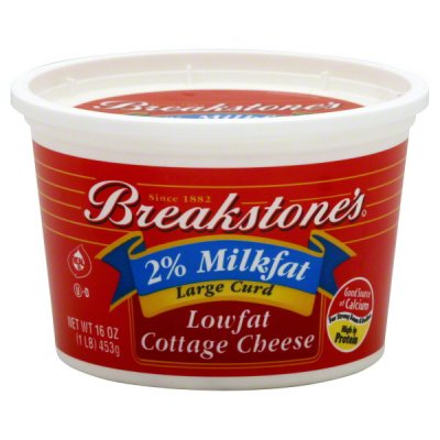 2% Milkfat Lowfat Cottage Cheese