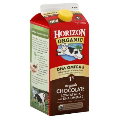 Chocolate Reduced Fat Milk, Organic, with Vitamins A and D
