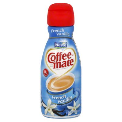 Coffee Creamer, French Vanilla, Fat Free