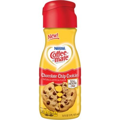 Coffeemate, Coffee Creamer, Chocolate Chip Cookie
