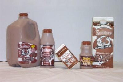 Milk, Chocolate Low Fat 1% Milkfat