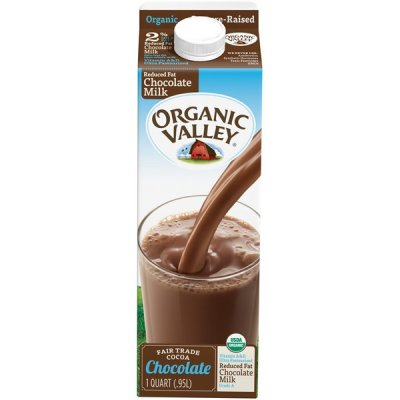 Organic Reduced Fat Milk, Chocolate