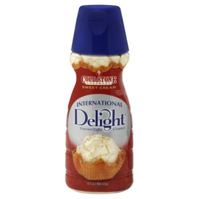 Calories In Cold Stone Sweet Cream Coffee Creamer