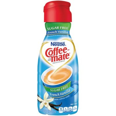 Coffee Creamer, Sugar Free, French Vanilla