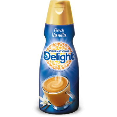 French Vanilla Naturally & Artificially Flavored Coffee Creamer