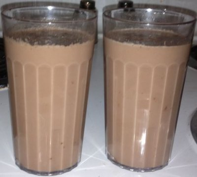 Icy Cold Reduced Fat Chocolate Milk