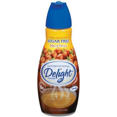 Sugar free Hazelnut Coffee Creamer