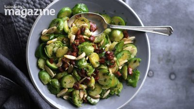 Baby Brussels Sprouts, Lightly Sauced, Frozen
