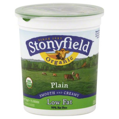 Yogurt, Organic, Low-Fat, Plain