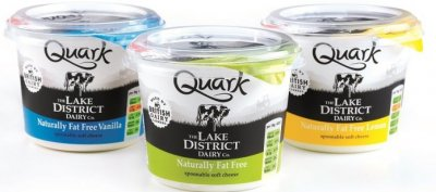 Creamy German Style Quark, Pineapple