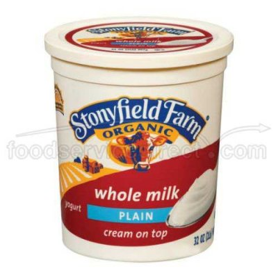 Whole Milk Yogurt, Plain