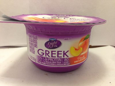 Greek Yogurt, Peach