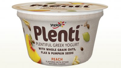 Plentiful Greek Yogurt, Peach