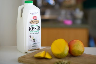 Kefir, 1% Low Fat, Summer Strawberry