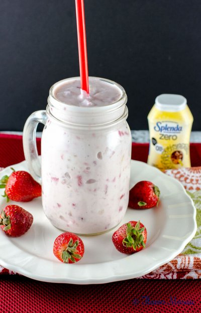 Greek Yogurt Drink, Strawberry Flavor