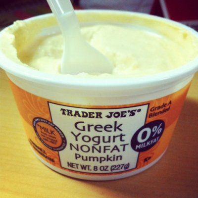 Greek Yogurt, Non-fat, Pumpkin