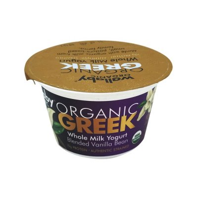 Organic Greek Blended Yogurt, Vanilla