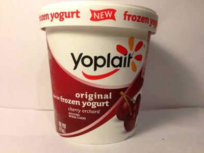 Yogurt, Low-Fat,  Cherry Orchard