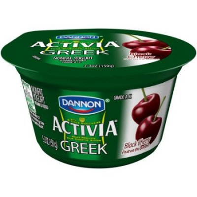 Greek, Nonfat Yogurt, Black Cherry