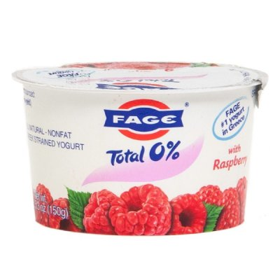 Greek Strained Yogurt With Raspberry