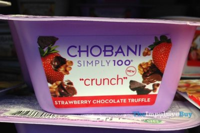 Simply 100, Crunch, Strawberry Chocolate Truffle