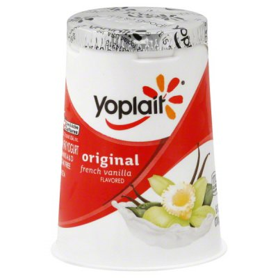 Yogurt, Low-fat, Vanilla