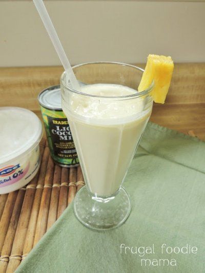 Greek, Lowfat Yogurt,  Pina Colada