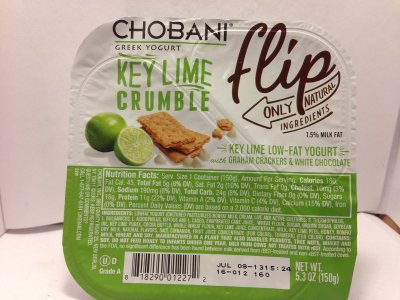 Greek Yogurt, Key Lime Crumble