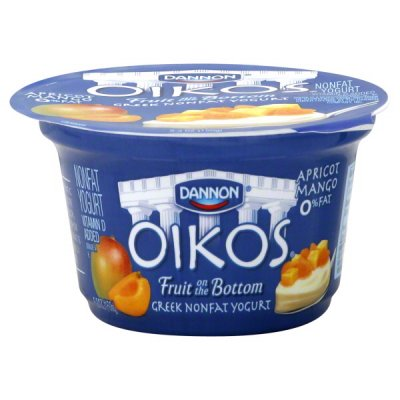 Greek Yogurt, Non-fat, Apricot Mango