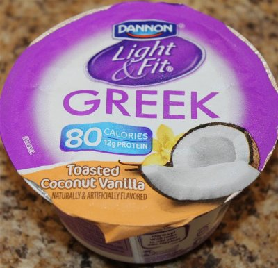 Greek Yogurt, Non-fat, Toasted Coconut Vanilla