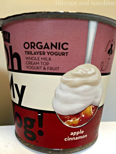 Oh My Yog!, Organic Trilayer Yogurt, Gingered Pear