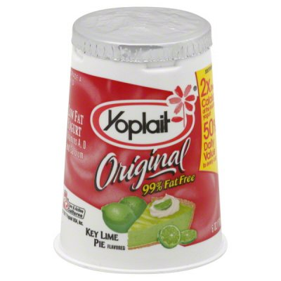 Yogurt, 2% Fat,  Key Lime