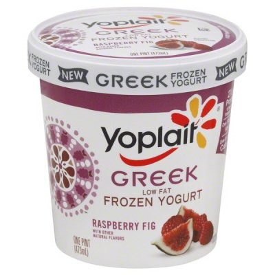 Yogurt, Low-fat, Raspberry