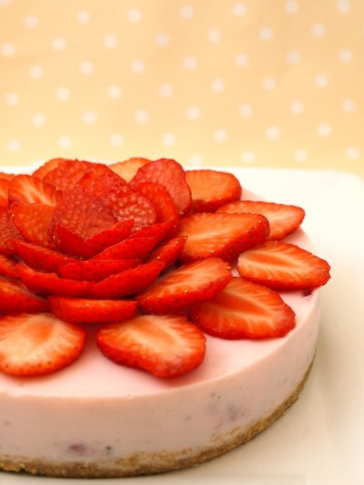 Yogurt, Strawberry Cheesecake