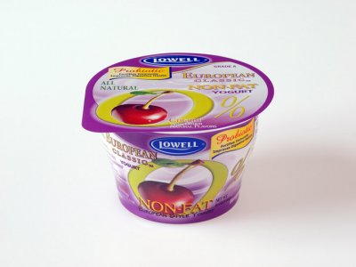 Yogurt, Non-fat, Cherry Vanilla