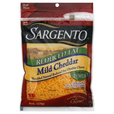 Mild Cheddar, Reduced Fatr Cheese