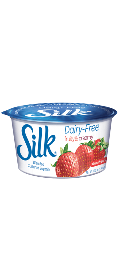 Non-Dairy Soy Yogurt, Strawberry