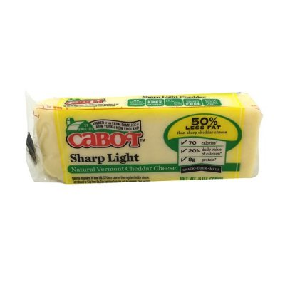 50% Reduced Fat Natural Cheddar Cheese