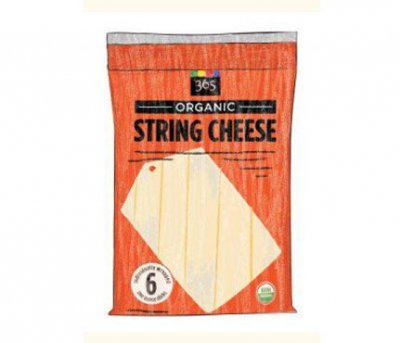Organic Light String Cheese
